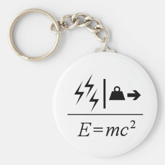 Mass–Energy Equivalence Keychain