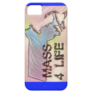 """Massachusetts 4 Life"" State Map Pride Design iPhone 5 Case"