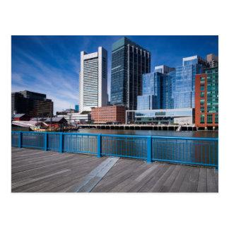 Massachusetts, Boston, Federal Reserve Bank Postcard