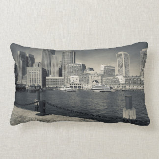 Massachusetts, Boston, Rowe's Wharf buildings Lumbar Pillow