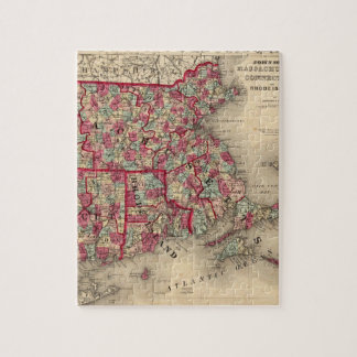 Massachusetts, Connecticut, and Rhode Island Puzzles
