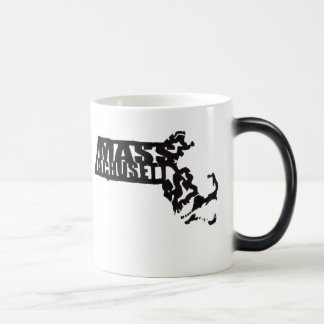 Massachusetts Digitized from a Senseshaper woodcut Coffee Mug