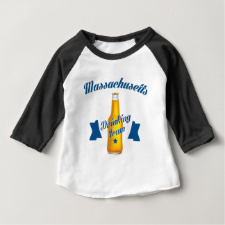 Massachusetts Drinking team Baby T-Shirt