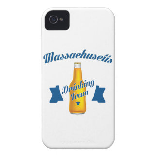 Massachusetts Drinking team Case-Mate iPhone 4 Cases
