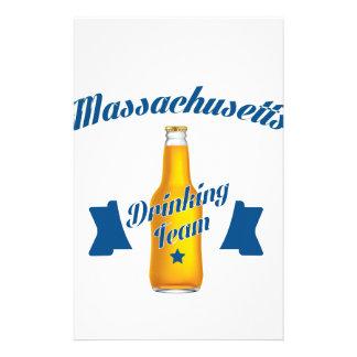 Massachusetts Drinking team Stationery