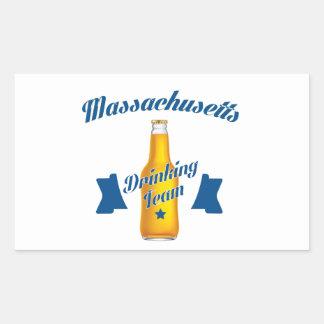 Massachusetts Drinking team Sticker