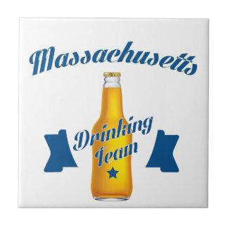 Massachusetts Drinking team Tile