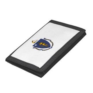 Massachusetts Flag Trifold Wallet
