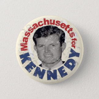Massachusetts for Kennedy satire button