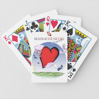 massachusetts head heart, tony fernandes bicycle playing cards