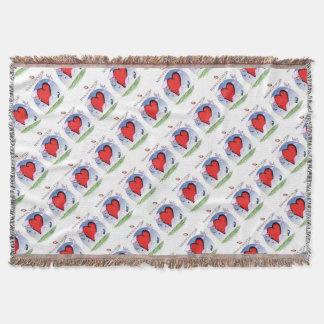 massachusetts head heart, tony fernandes throw blanket