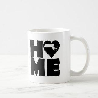 Massachusetts Home Heart State Mug or Travel Mug