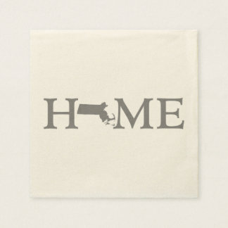 Massachusetts Home State Disposable Napkins
