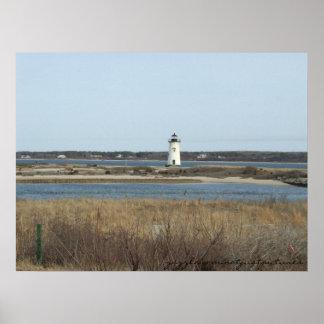 Massachusetts Lighthouse Poster