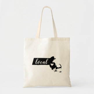 Massachusetts Local State Tote Bag