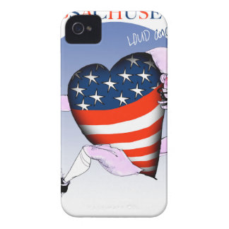 massachusetts loud and proud, tony fernandes iPhone 4 cases