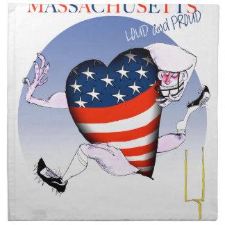massachusetts loud and proud, tony fernandes napkin