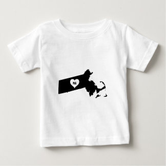 Massachusetts Love Baby T-Shirt