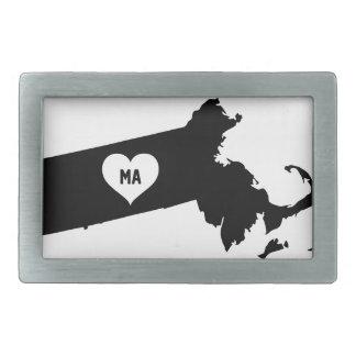 Massachusetts Love Belt Buckle
