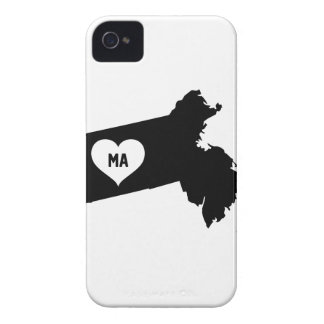 Massachusetts Love Case-Mate iPhone 4 Cases