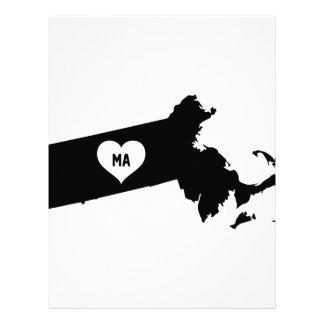 Massachusetts Love Letterhead