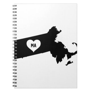 Massachusetts Love Notebooks