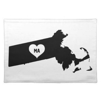 Massachusetts Love Placemat