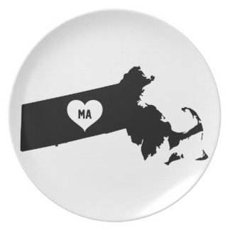 Massachusetts Love Plate
