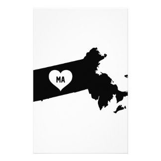 Massachusetts Love Stationery