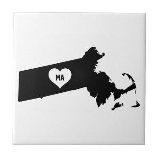 Massachusetts Love Tile