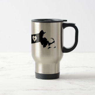 Massachusetts Love Travel Mug