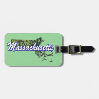 Massachusetts Luggage Tag