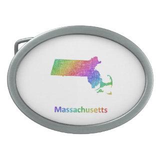 Massachusetts Oval Belt Buckles