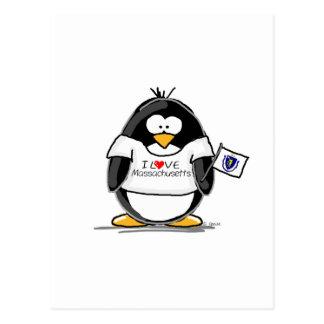Massachusetts penguin postcards