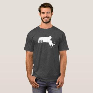 Massachusetts State Dad Shirt