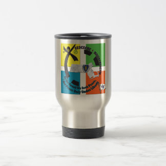 MASSACHUSETTS STATE MOTTO GEOCACHER TRAVEL MUG