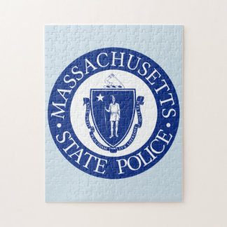 Massachusetts State Seal. Jigsaw Puzzle