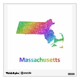 Massachusetts Wall Decal