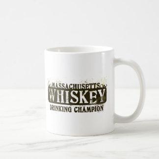 Massachusetts Whiskey Drinking Champion Coffee Mug