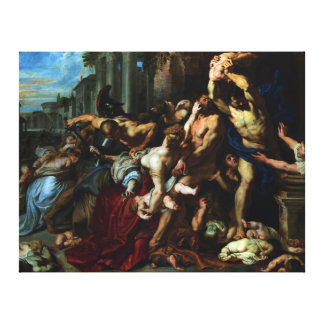 Massacre of the Innocents by Peter Paul Rubens Canvas Print