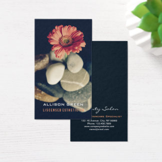 Massage Aromatherapy Salon E S T H E T I C I A N Business Card