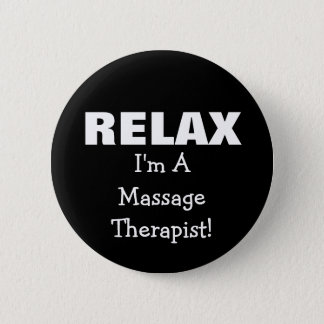 Massage Relax (customizable) 2 Inch Round Button