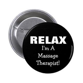 Massage Relax (customizable) 2 Inch Round Button