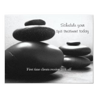 Massage Stones Card