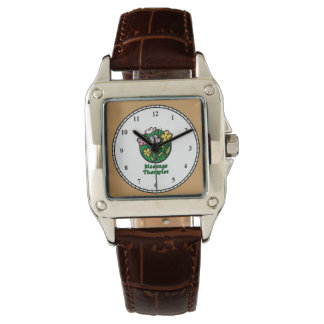 Massage Therapist Blooms2 Wristwatch