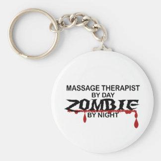 Massage Therapist Zombie Key Chains