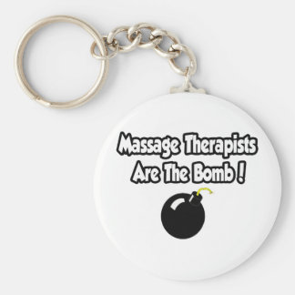 Massage Therapists Are The Bomb! Key Chains