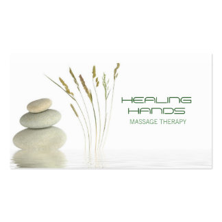 Massage Therapy Healing Arts Skin Care Business Pack Of Standard Business Cards