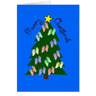 Massage Therapy MERRY CHRISTMAS Gifts Greeting Card