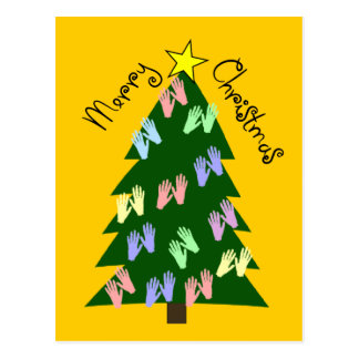 Massage Therapy MERRY CHRISTMAS Gifts Postcard